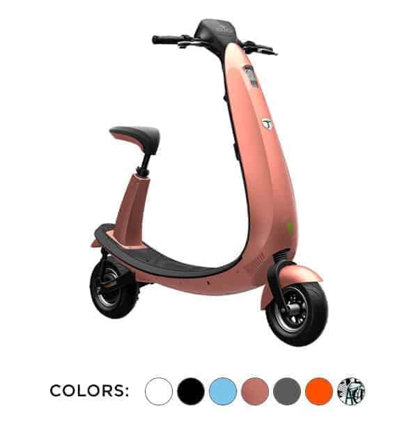 Ojo Electric Scooter (Ford Scooter) is available in multiple colors