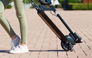 portable electric kick scooter