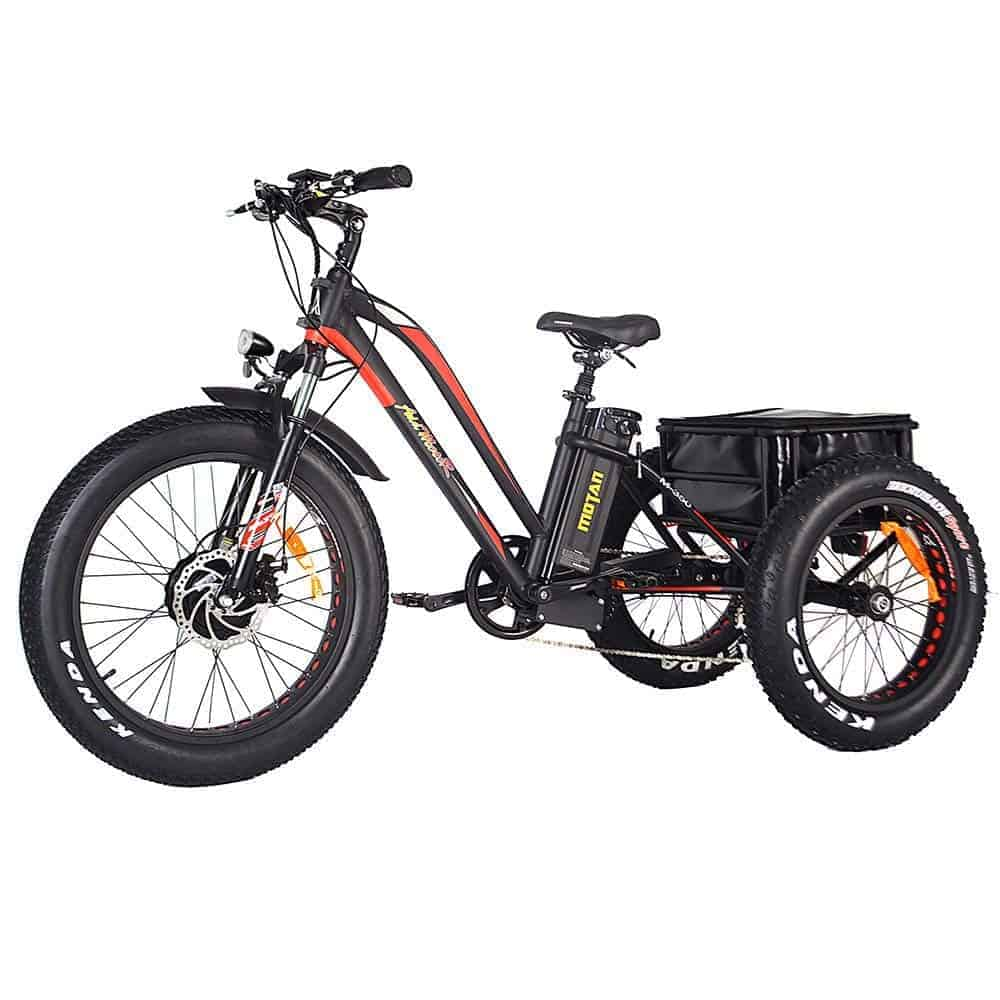 addmotor fat tire trike bike