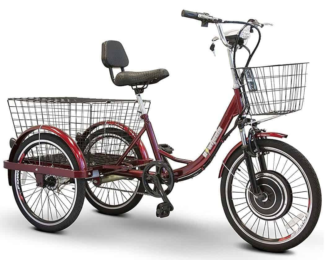 ewheels adult electric tricycle