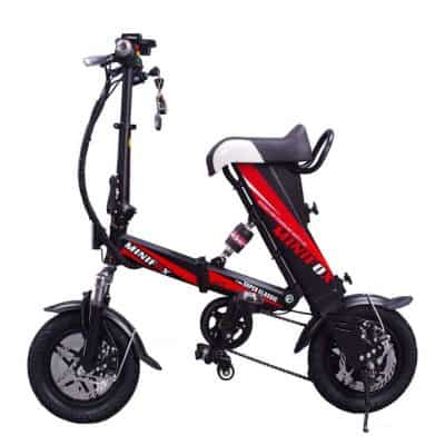 folding electric mini bike
