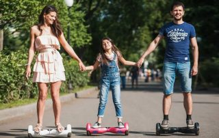 riding hoverboard safely