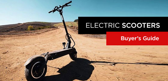 Top 12 Electric Scooters and New Brands - Buyers Guide