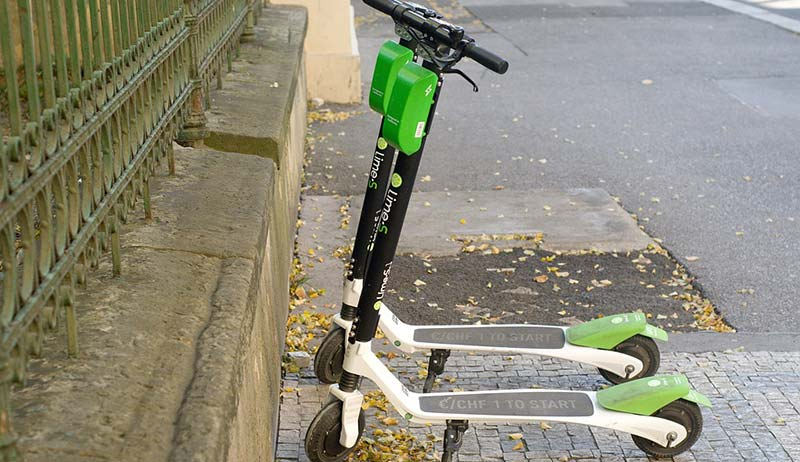 scooter rental and sharing