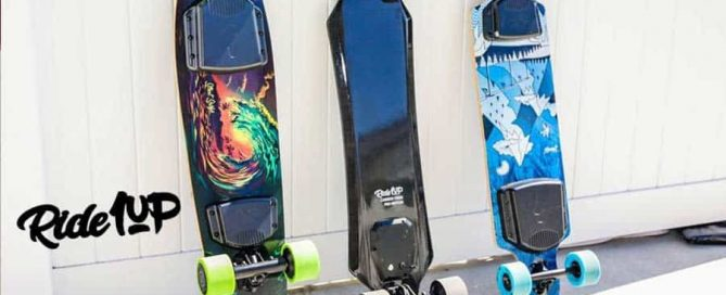 Electric scateboards by Ride1 Up