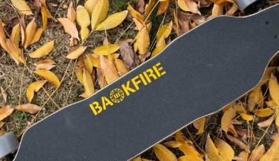 backfire g2t with a fall backdrop