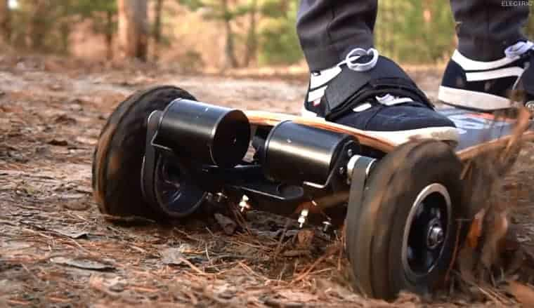 best off road motorized skateboard