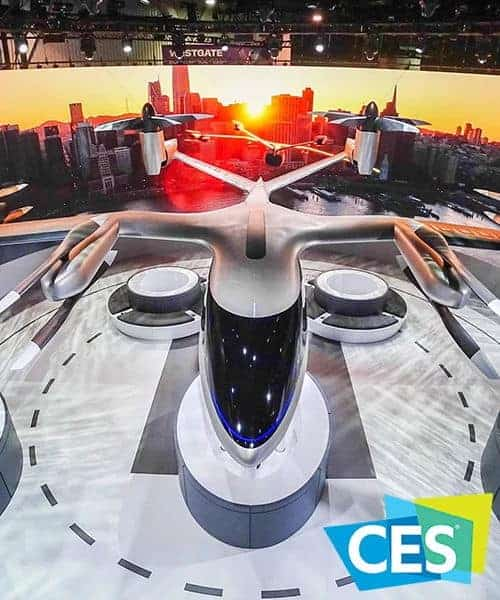Uber Air Taxi at CES