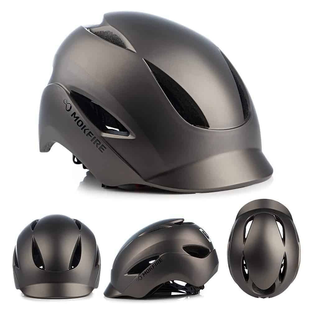 bike helmet with LED light